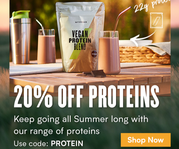 20% off Proteins|  Code: PROTEIN