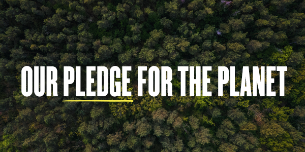 Our Pledge For The Planet
