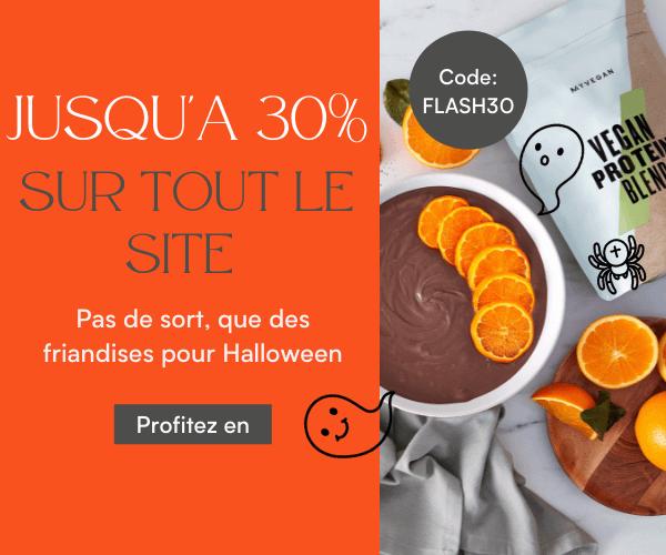 Jusqu'à 30% sur tout le site | code promo: FLASH30