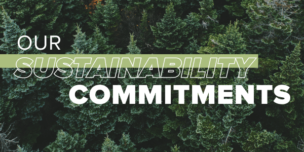 Our Sustainability Commitments