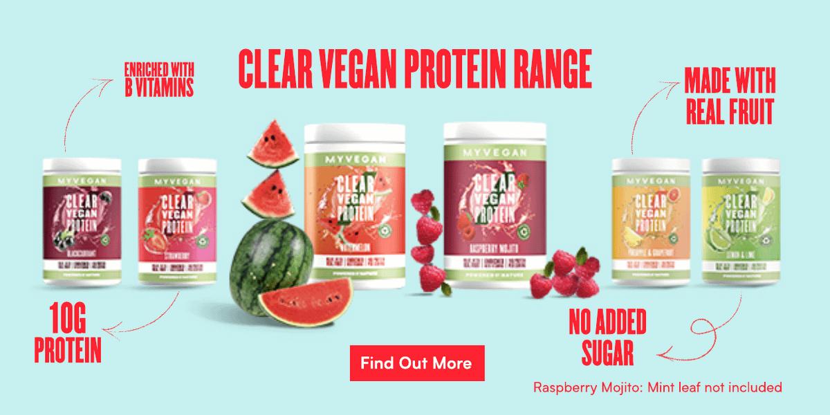 Clear Vegan Protein Range