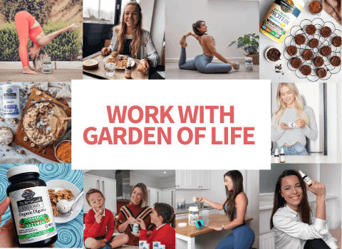 Work with Garden of Life