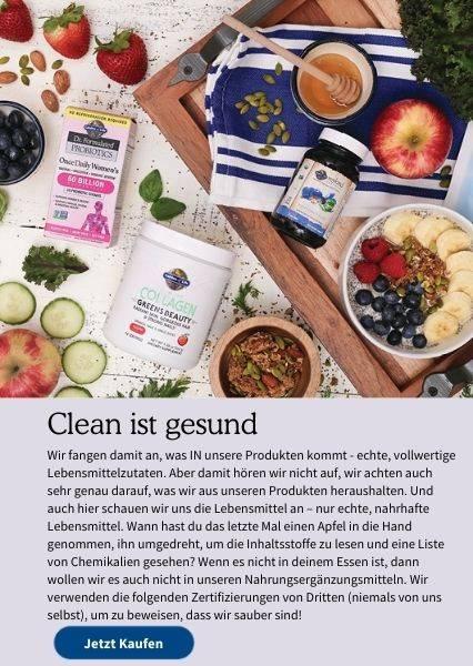 Clean ist gesund