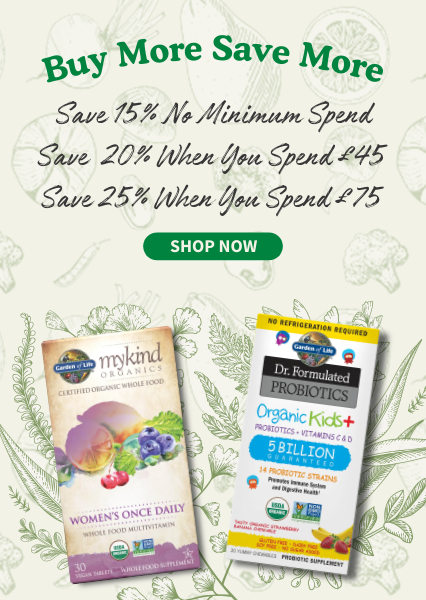 Buy More Save More: Save Up To 25% No Minimum Spend