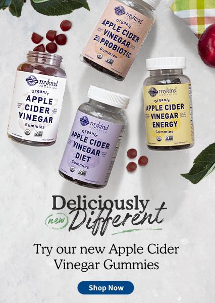 Try our new apple cider vinegar gummies