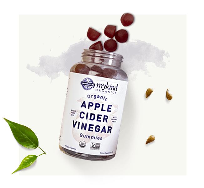 Vinagre de sidra de manzana mykind Organics Original