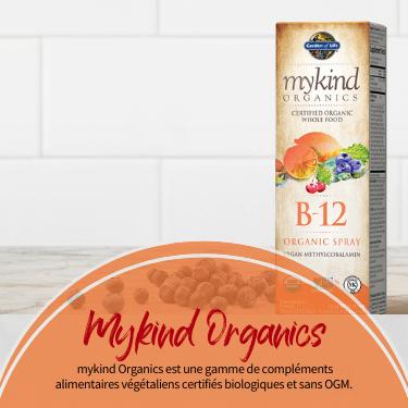 MyKind Organics. mykind Organics est une gamme de compléments alimentaires végétaliens certifiés biologiques et sans OGM.