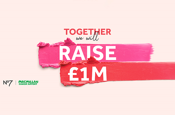 Together we will raise £1 million. No 7 | Macmillan Cancer Support