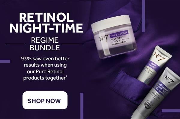 Retinol Night-time bundle