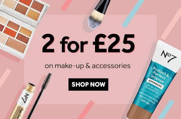 Save 25 Percent on Cosmetics and Accessories