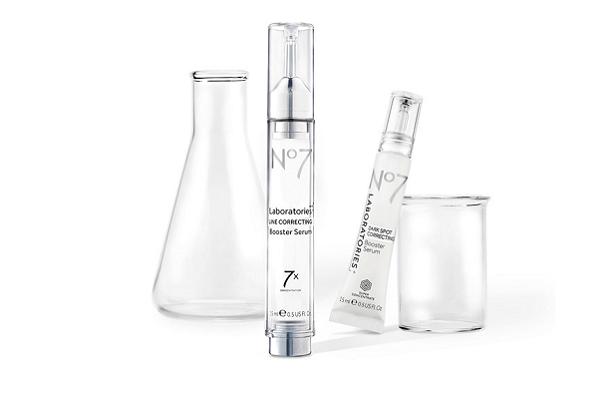 No7 Laboratories Line Correcting Booster Serum, No7 Laboratories Dark Spot Correcting Booster Serum