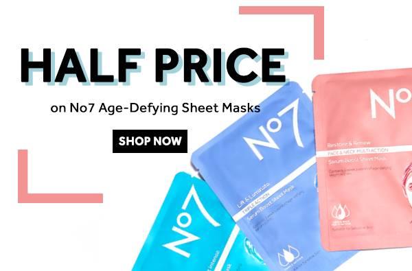 Half Price Sheet Masks