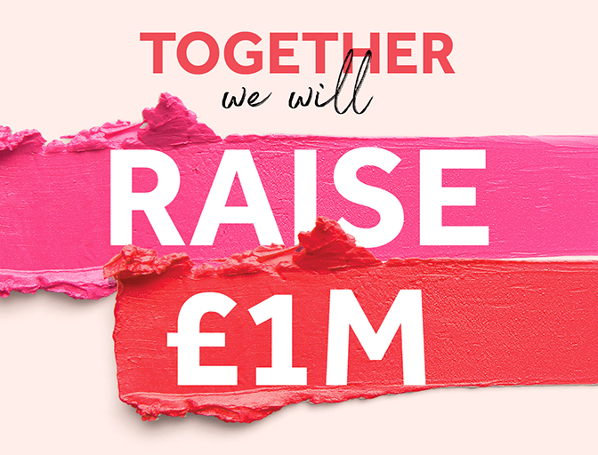 Together we will raise £1m