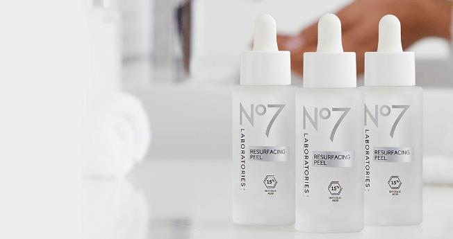 NEW No7 Laboratories Resurfacing Peel 15% Glycolic Acid