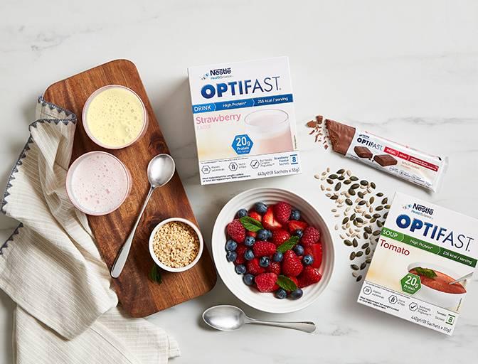 OPTIFAST vanilla dessert