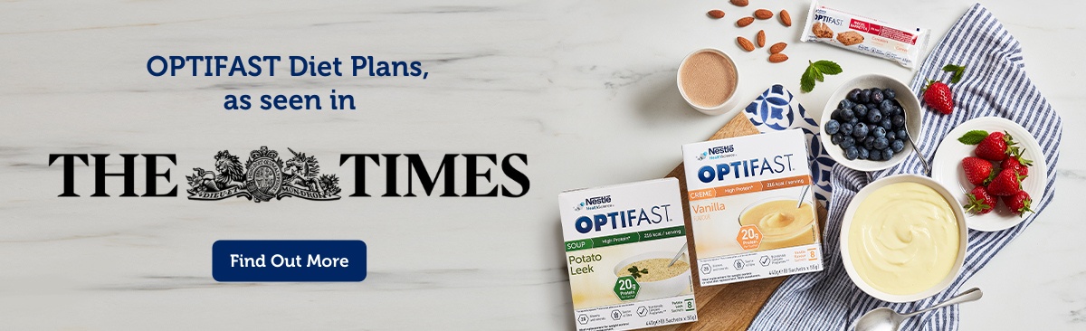 OPTIFAST Diet Plans, as seen in The Times