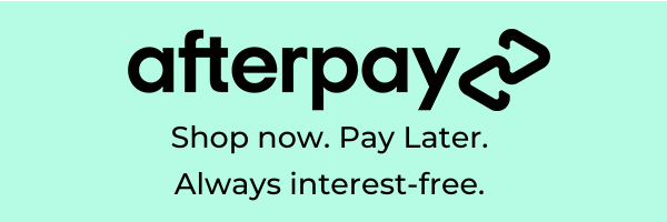 afterpay - show now. pay later. always interest free