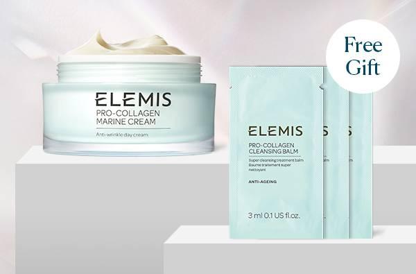 Buy Pro-Collagen Marine Cream full size, get Free x3 Pro-Collagen Cleansing Balm sachets