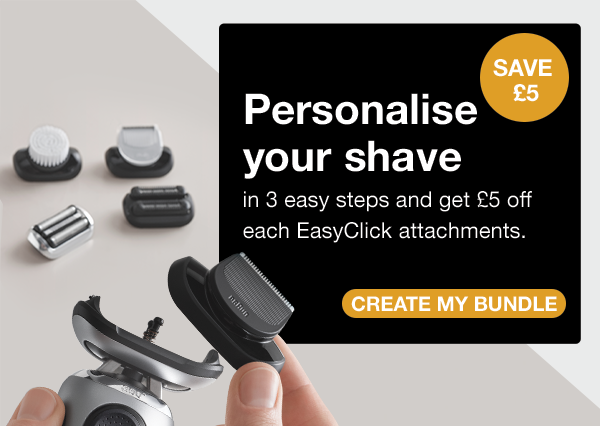 Personalise your electric shaver