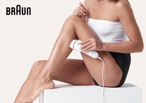 Save up to 50% on selected Braun IPL
