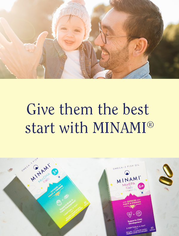 Support your kids with Minami Omega-3 supplements