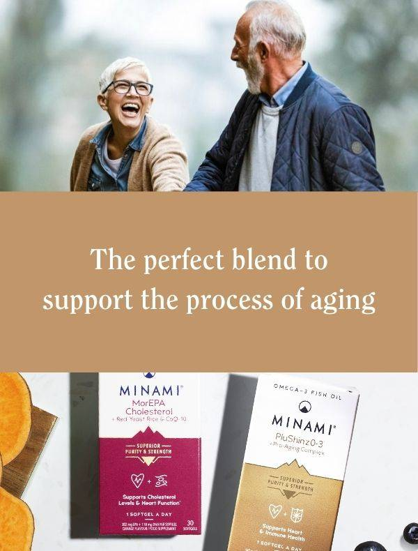 The perfect blend to support the aging process from Minami Omega-3 Supplements
