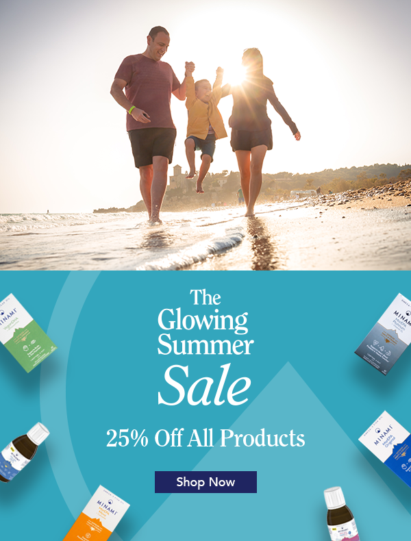 The Glowing Summer Sale - 25% off all products!