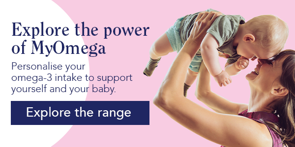 Personalize your omega-3 intake to support yourself and your baby.