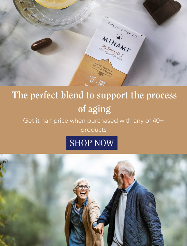 PluShinz0-3 - The perfect blend to support the process of aging