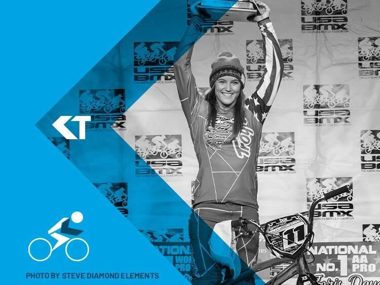 Alise Willoughby BMX Racer