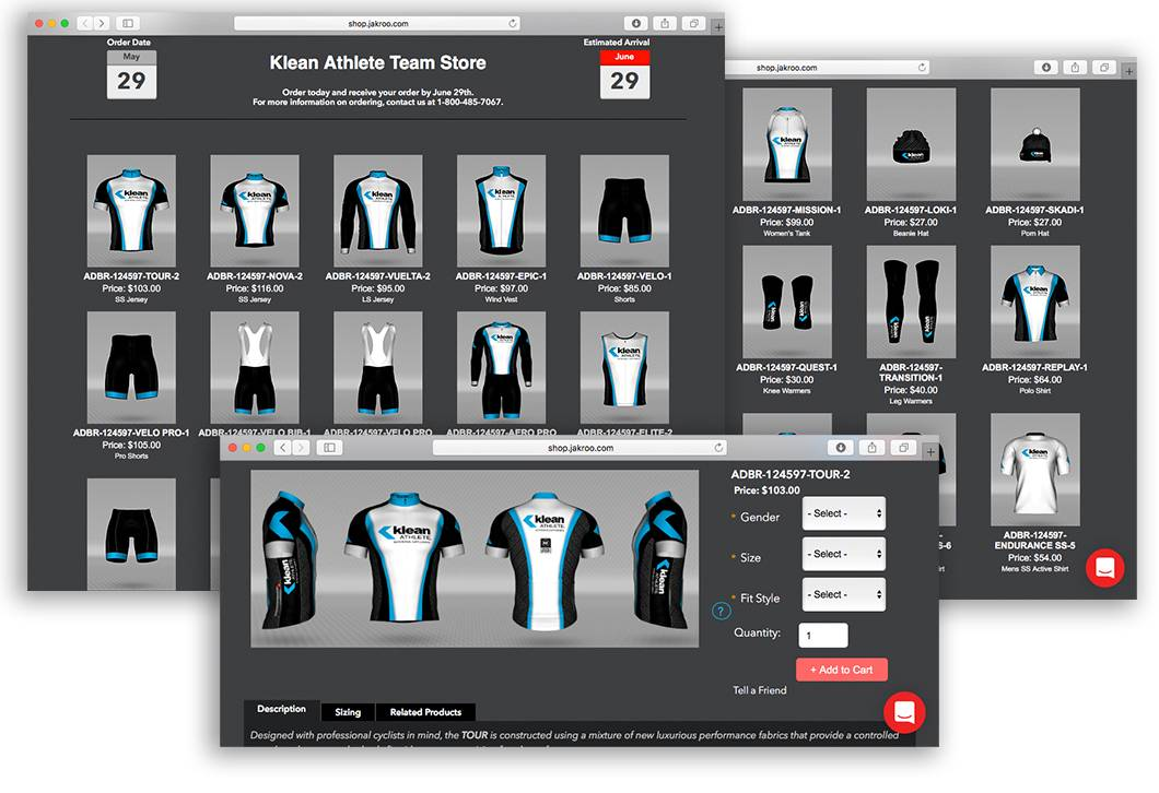 SHOP OUR CUSTOM TRAINING GEAR FROM JAKROO®