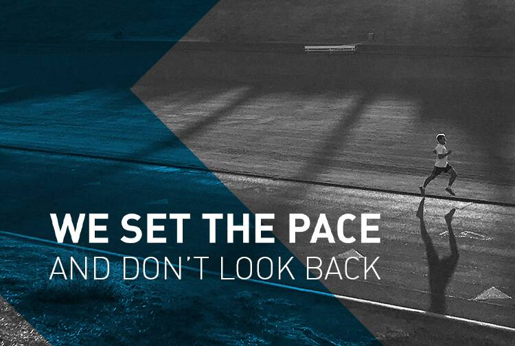 SHOP THE GEAR. We Set the Pace and Stick to it.