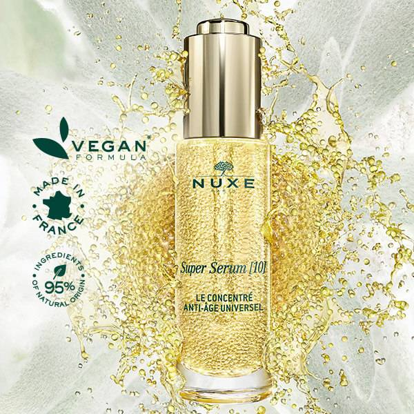 Vegan formula made in France, 95% ingredients of natural origin