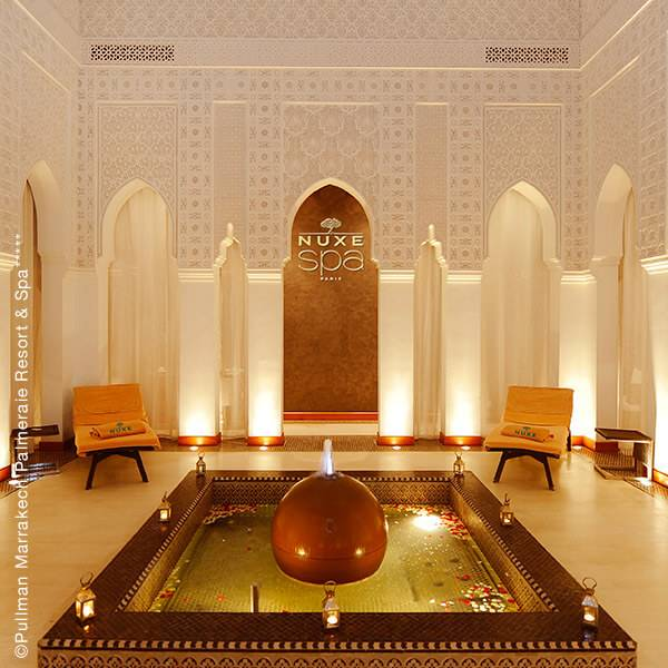 Spa NUXE Pullman Marrakech Palmeraie Resort & Spa***** (Marrakech - Maroc) Urspelt, Grand Duché de Luxembourg