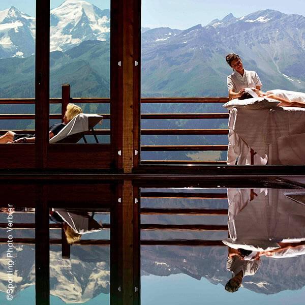 Spa NUXE Hôtel Le Chalet d'Adrien***** (Suisse - Verbier)