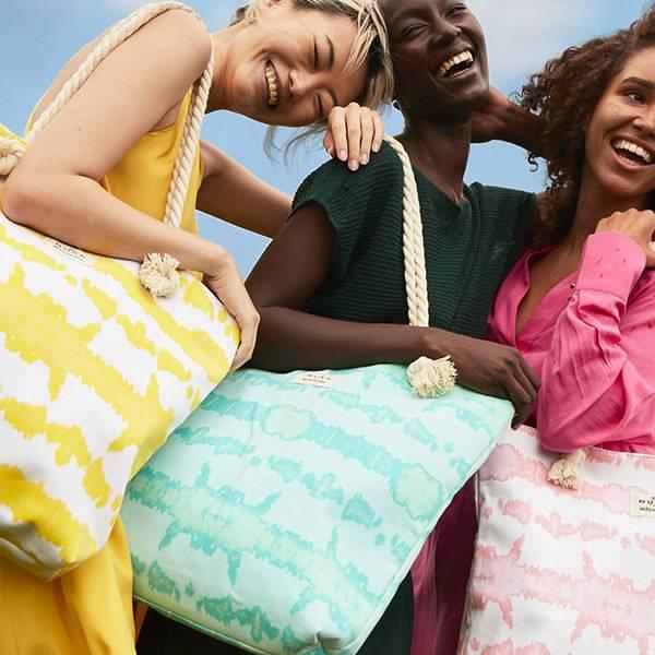 Le sac de plage NUXE x Hipanema