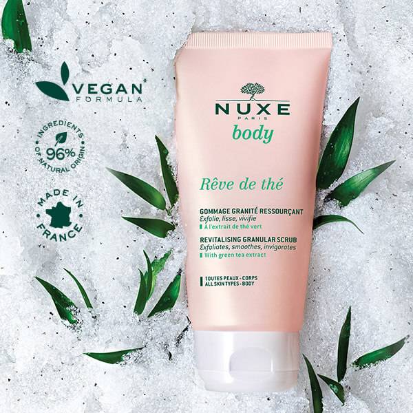 Vegan formula, 96% ingredients of natural origin made in France