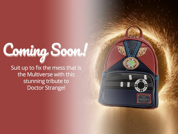 Loungefly Dr Strange Cosplay Exclusive Mini Backpack