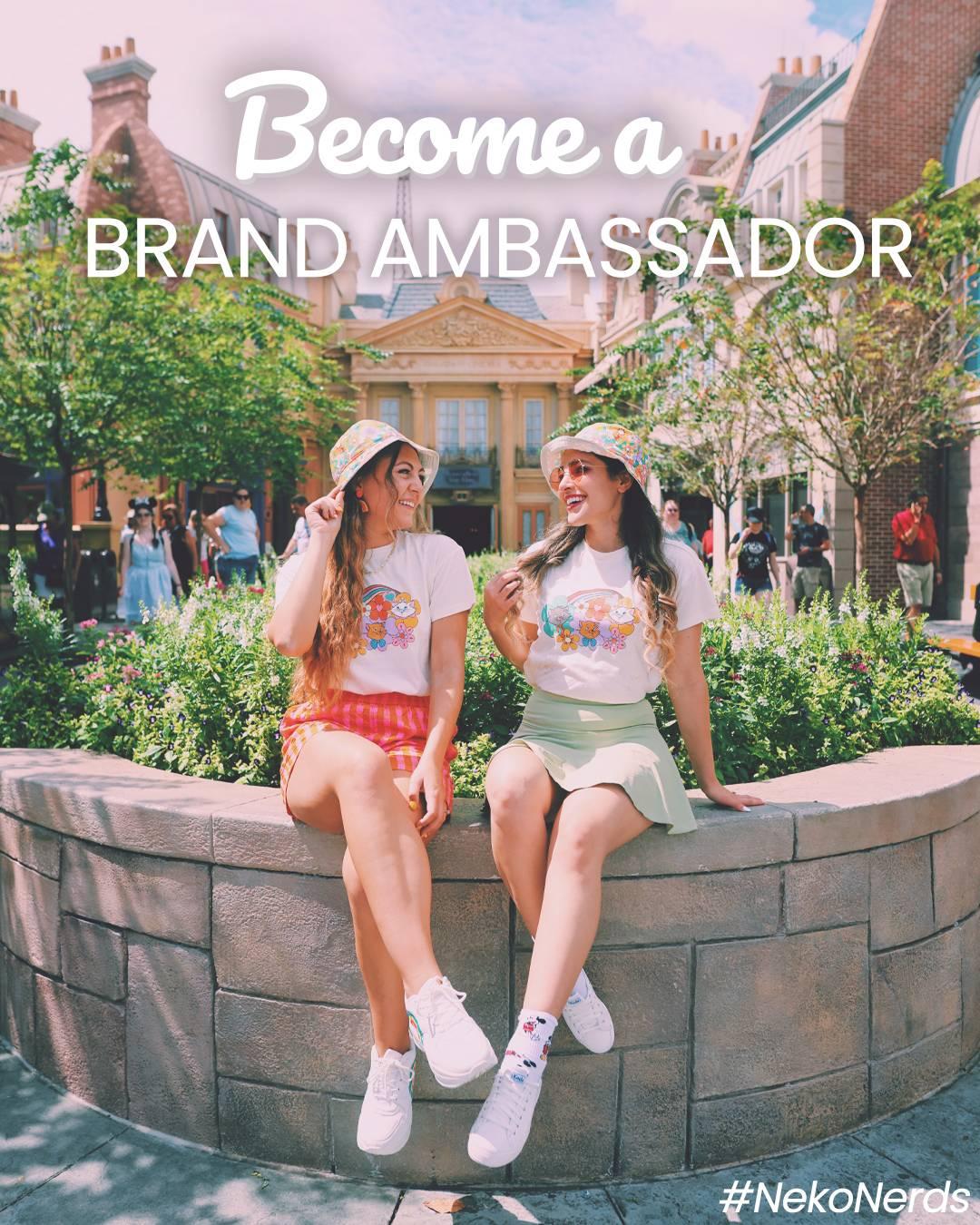 become a brand ambassador today