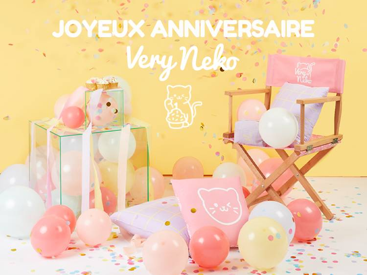 Joyeux Anniversaire Very Neko