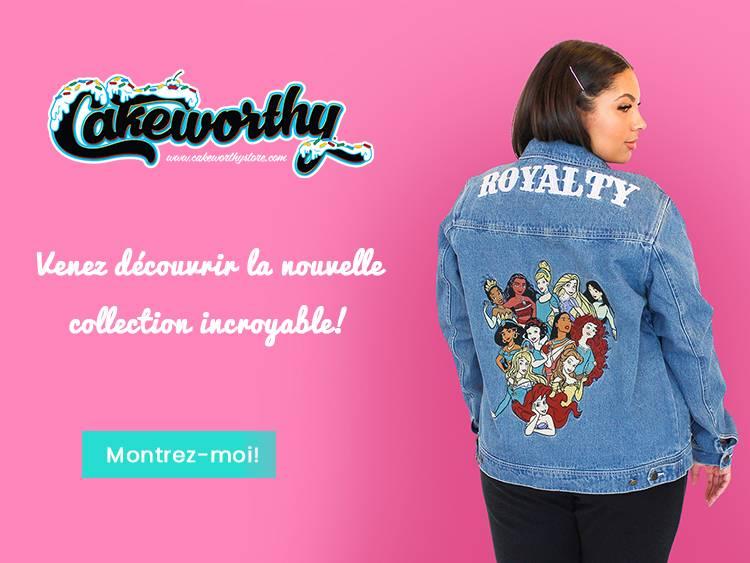 Venez découvrir la nouvelle collection incroyable de Cakeworthy!