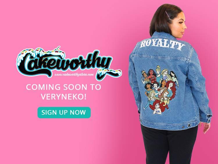 Cakeworthy - Coming Soon to VeryNeko
