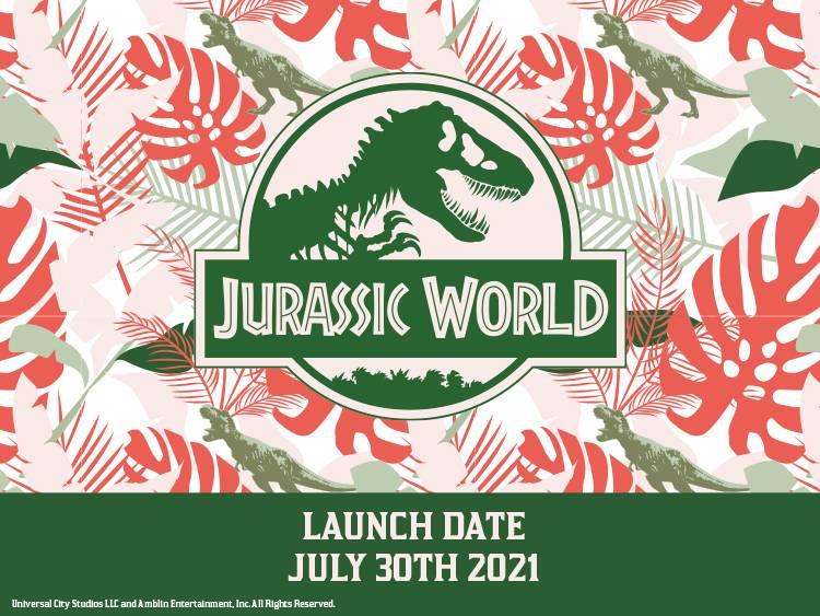 Jurassic World collection coming soon to VeryNeko