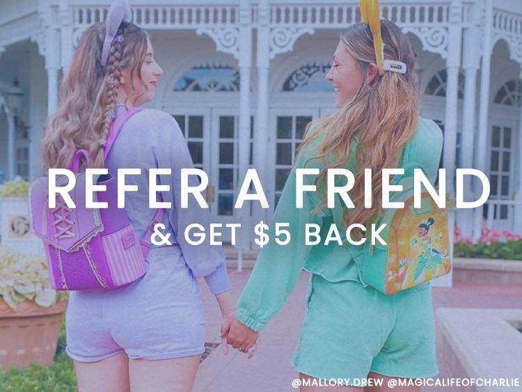 Refer a Friend and get $5 back