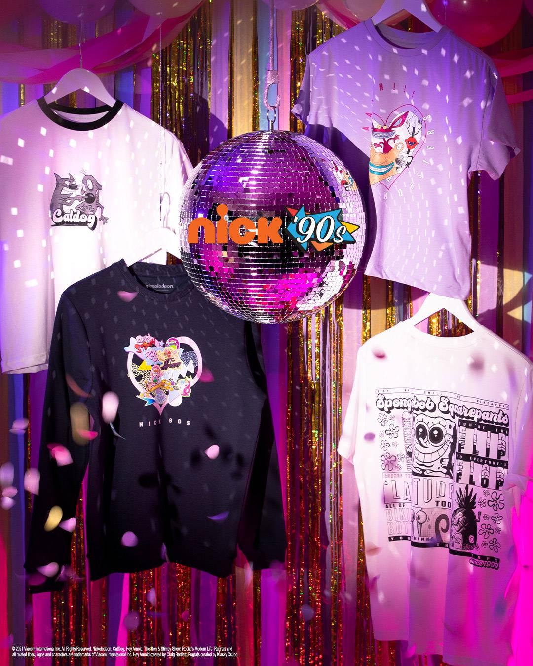 Nick 90's collection, coming soon to VeryNeko