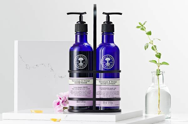 Natural hand washes, soaps & lotions