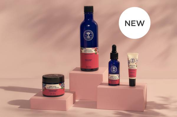FREE Wild Rose AHA Toner* when you buy any three Wild Rose Skincare products