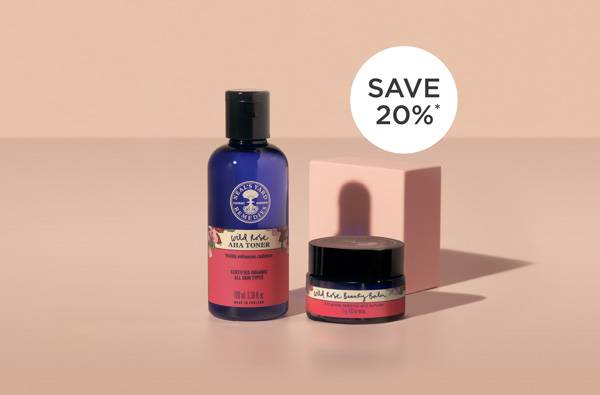 Find your new natural & organic Skincare favourite. Wild Rose Beauty Balm & Wild Rose AHA Toner for £20