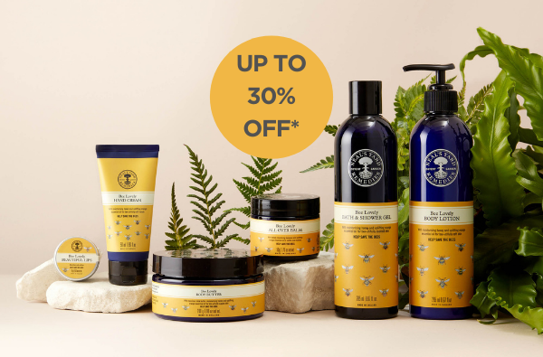 NEW natural and organic beauty and wellbeing collections