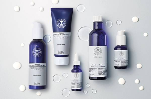Pure relief for sensitive skin